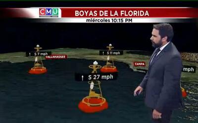 El tiempo: tormenta tropical Hermine