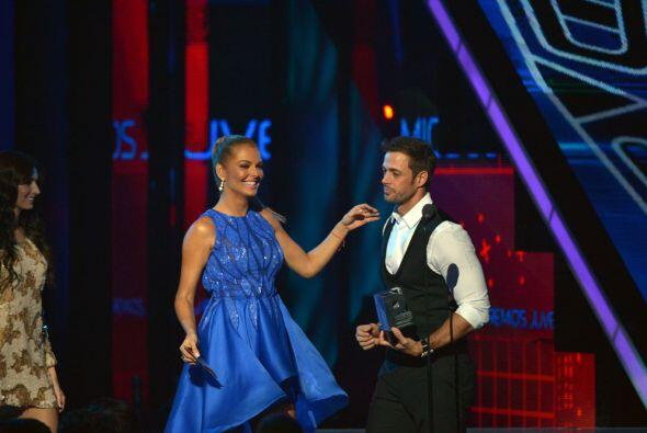 Marjorie de Sousa anunció al ganador de la categoría Qué Actorazo.