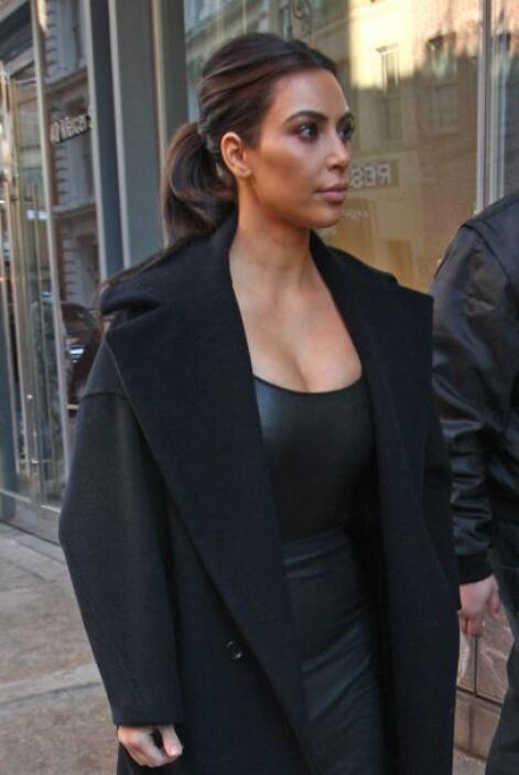 Kim, como siempre, lució muy sexy. Más videos de Chismes aquí.