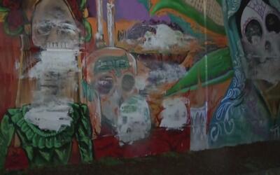 Vandalizaron murales sobre la Virgen de Guadalupe en Passiac