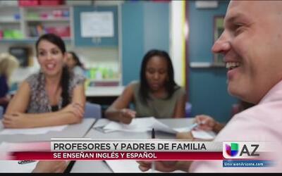 Programa de enseñanza Inglés-Español