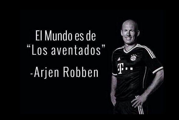 #UnOdioEternoA a Robben.