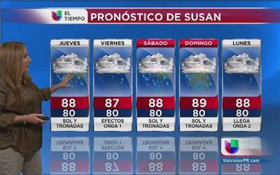 Pronóstico del tiempo - 18 de septiembre