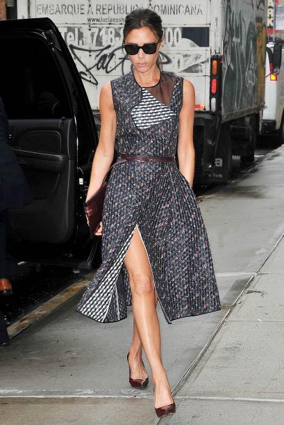 Victoria Beckham es toda una gurú del estilo que no necesit&oacut...