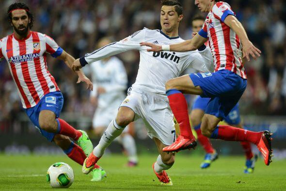Cristiano Ronaldo empezó a ser protagonista y la principal pesadi...