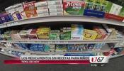 ¿Qué tan seguros son los medicamentos sin receta para los niños?