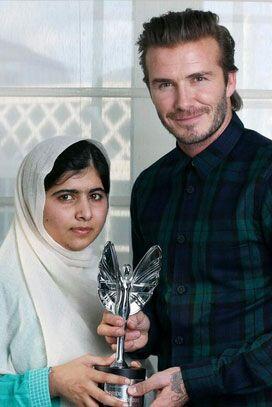 Muchos famosos se han convertido el fieles admiradores de Yousafzai, tal...