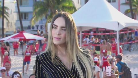 Belinda nos contó cómo llegó a ser parte de la súper producción 'Baywatch'