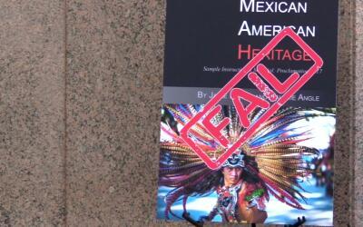 El polémico libro Mexican American Heritage