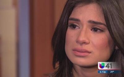 Joven actriz relata la deportación de su familia