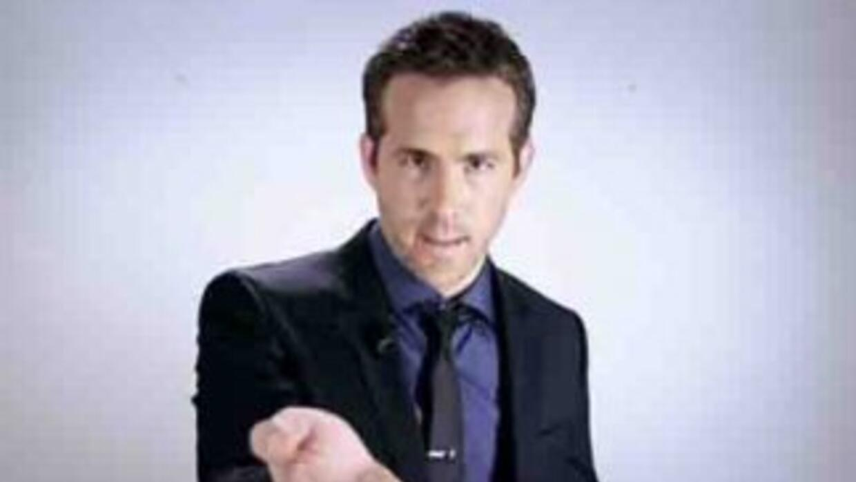 El actor Ryan Reynolds participó en este optimista video. Foto tomada d...