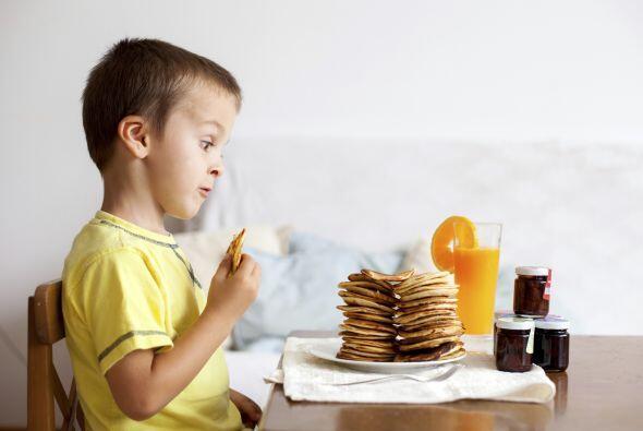 No olvides darle de desayunar a tu pequeño antes de salir de casa, si pr...