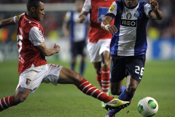 El partido final fue contra el gran favorito Oporto.