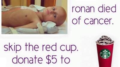 Controversiales tazas de Starbucks ayudan a madre Arizonense 12243425_93...