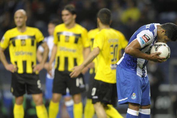 El atacante del Oporto se echó el equipo al hombro con sus goles.
