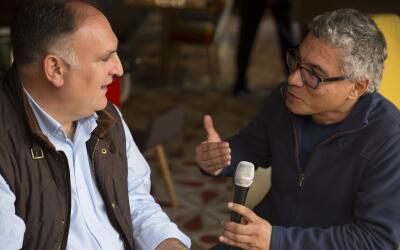 El conocido chef José Andrés defiende su postura a favor d...