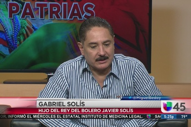 Gabriel Solis se presenta en Houston
