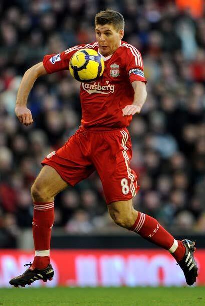 El conjunto rojo capitaneado por Steven Gerrard, ligó su sexto pa...