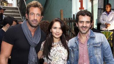 Adriana Louvier, Gabriel Soto y Flavio Medina arrancaron las grabaciones...