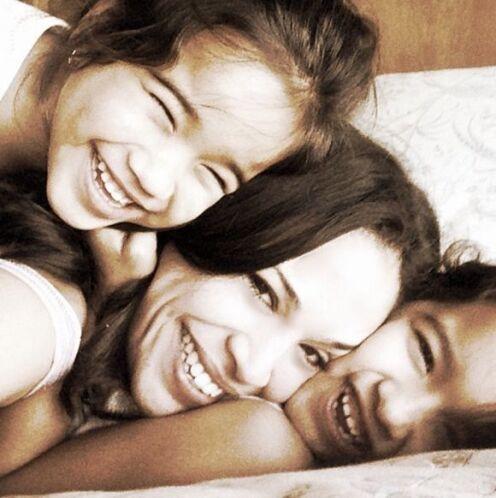 """""""Felicidad absoluta! #bendecida #graciasDios #amosermamá #mimotivo #mome..."""