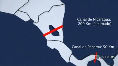 ¿Cómo será el rival del canal de Panamá en Nicaragua?