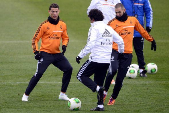 Cristiano Ronaldo quiere trabajar duro desde ya para intentar ganar su t...