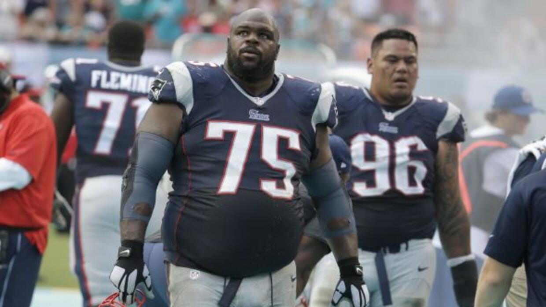 Vince Wilfork habló de lo ocurrido con Patriots. (NFL-AP)