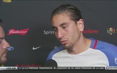 """Alejandro Bedoya: """"Todos trabajamos por el equipo para conseguir el pase"""""""