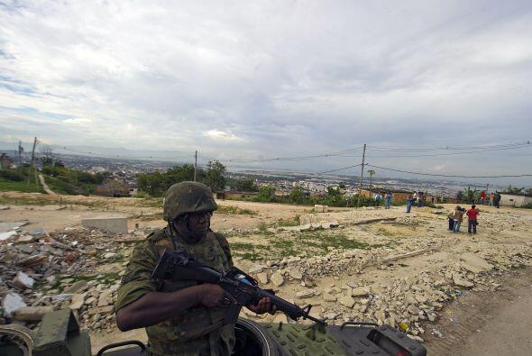 El gobierno resaltó el refuerzo de los soldados del Ejérci...