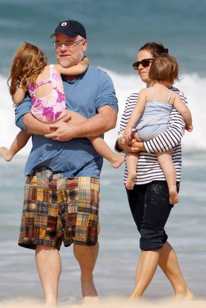 Según sus allegados, Hoffman era un padre responsable y cari&ntil...