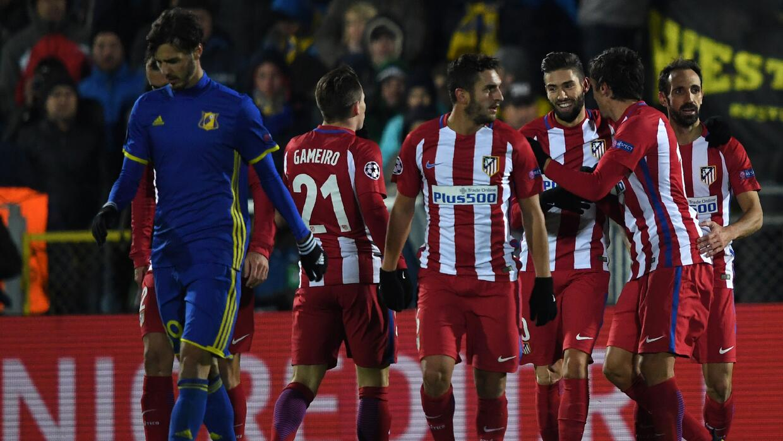 Atlético de Madrid venció 1-0 al Rostov