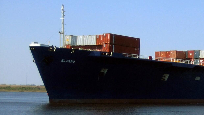 En imagen sin fechar proporcionada por TOTE Maritime se muestra el buque...