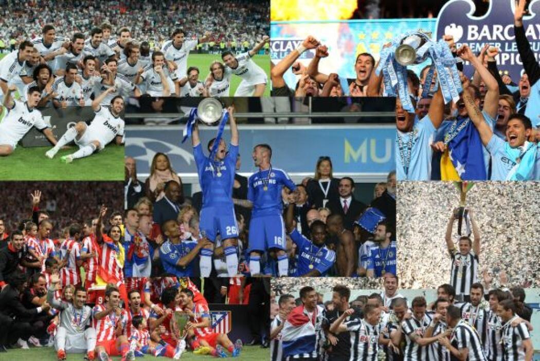 El fútbol del Viejo Continente nos dejó mucho en este año, entre ellos a...