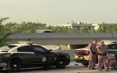 'Miami en un Minuto': un agente de la patrulla de carreteras se encuentr...