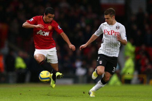 El Fulham descontó pero el Manchester United ganó con comodidad.