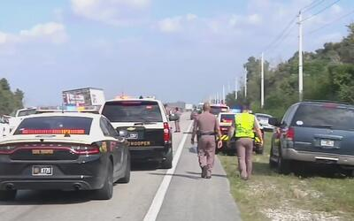 Un hombre murió atropellado por un camión cuando intentaba recuperar su...
