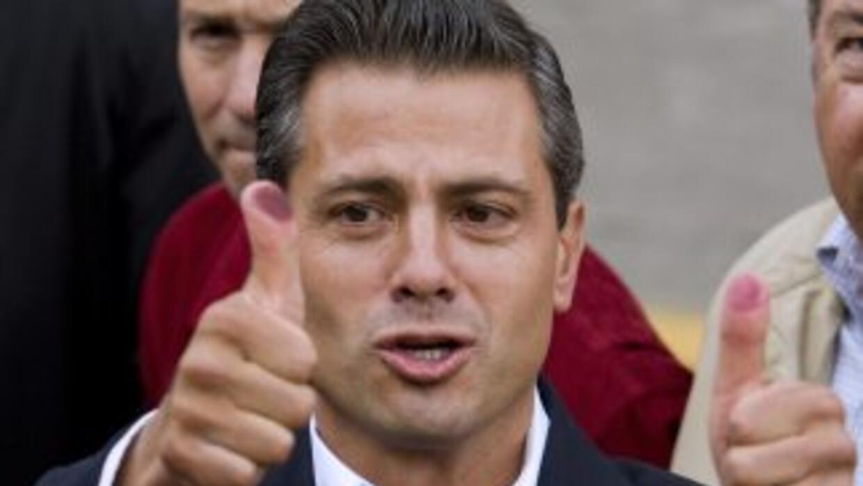 La prensa internacional está nombrando a Enrique Peña Nieto, del PRI, vi...
