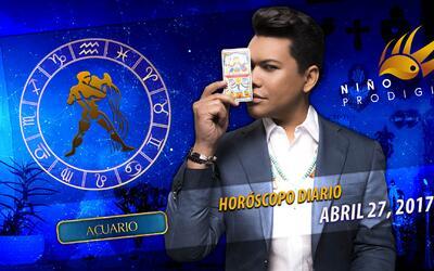 Niño Prodigio - Acuario 27 de abril 2017