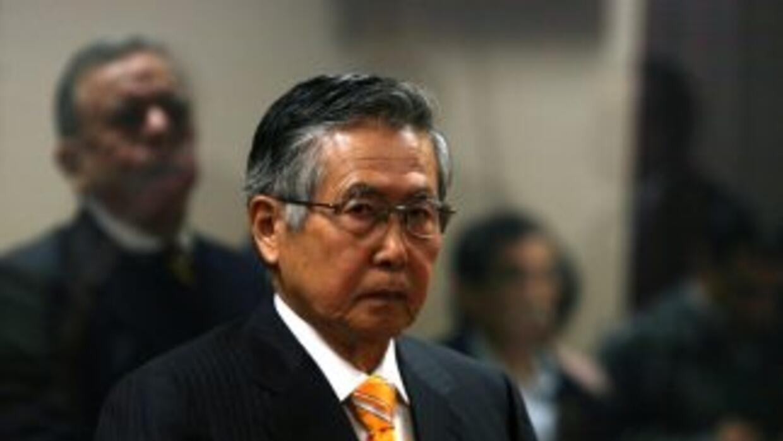 El ex presidente de Perú, Alberto Fujimori, volvió a la cárcel tras un c...