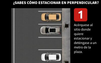 Estacionar en perpendicular