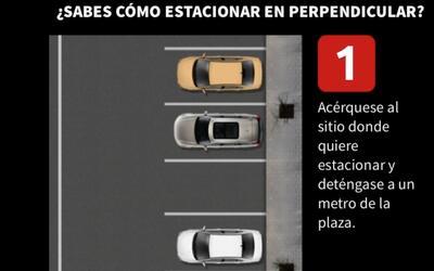 Estacionar en perpendicular