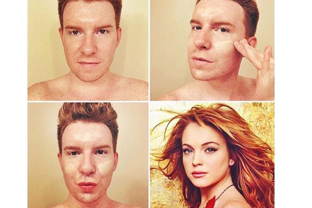 De chico a... Lindsay Lohan.