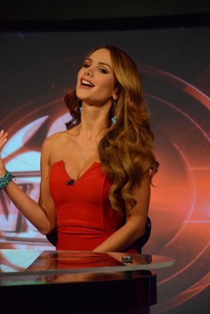 Jimena Córdoba impactó a la jauría con su belleza y...