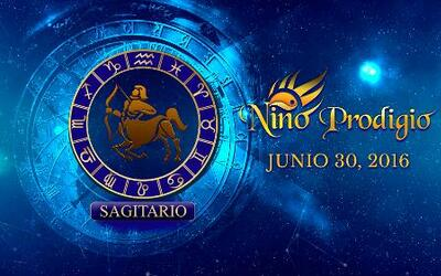 Niño Prodigio - Sagitario 30 de Junio, 2016