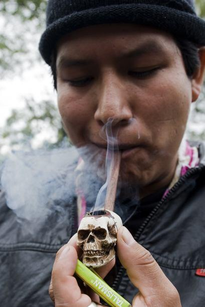Un Rally a favor de la legalización de la marihuana se realiz&oac...