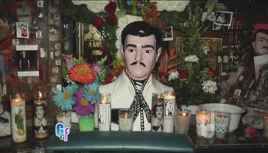 Las extravagantes y lujosas tumbas de la familia del 'Chapo' Guzmán