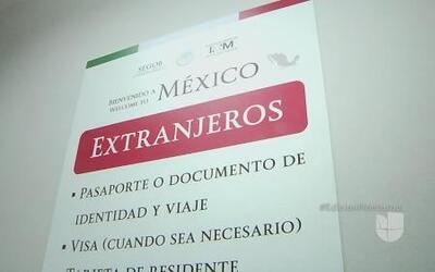 Nuevas medidas para extranjeros que entran a México