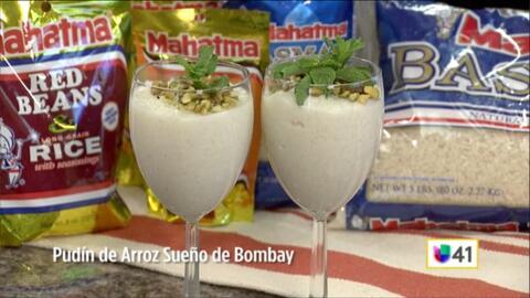 Pudín de Arroz Sueño de Bombay