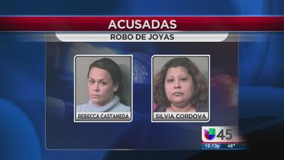 Mujeres robaron medio millón de dólares en joyas