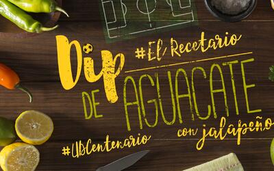Dip de aguacate con jalapeño #UDCentenario (video)